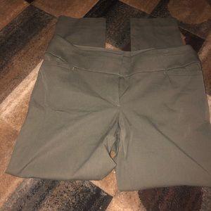 Loft army green dress pants!